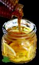 Ingrédients - Gelée contre maux de gorge